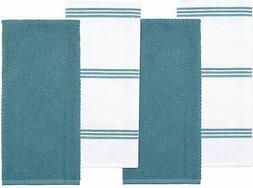 Sticky Toffee Cotton Terry Kitchen Dishcloths Dish Towels, 8