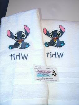 Stitch Dish Kitchen Hand Towels ANY COLOR