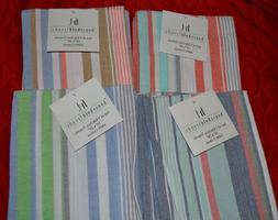 Household Trends Striped Kitchen Towels - Various Color Patt