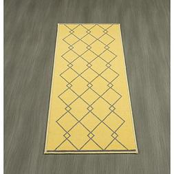 Ottomanson Studio Collection Diamond Trellis Design Runner R