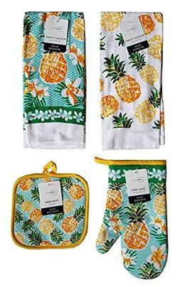 Mainstay Home Mainstays Summer Tropical Kitchen Towels, Oven