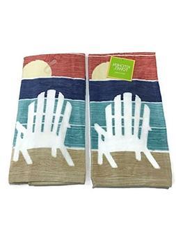 Ritz Sunset Lake Kitchen Towel 2 pack set
