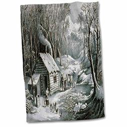 3dRose TDSwhite – Christmas Holidays Xmas - Vintage Currie
