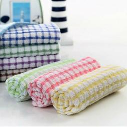 Soft Tea Terry Cotton Kitchen Dish Cloths Large Cleaning Dis