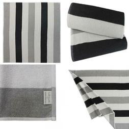 Cotton Craft - Terry Beach Towel 30x60-2 2 Pack- Cabana Stri
