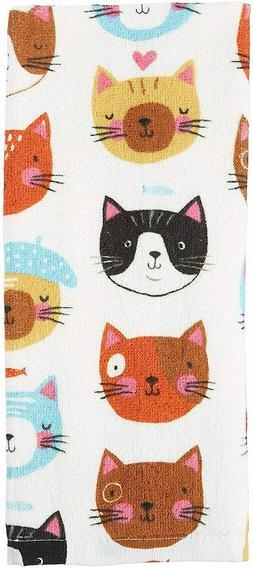 Kay Dee Designs Terry Towel - Crazy Cat