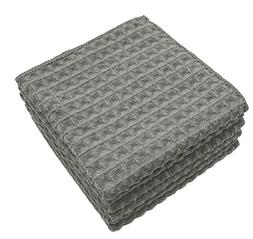 Mia'sDream Thick Microfiber Dish Cloths Waffle Weave Kitchen