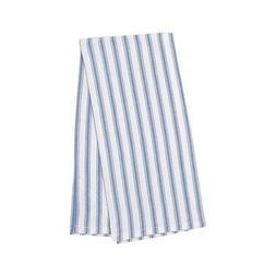 Ticking Stripe Cornflower 18 x 27 Inch Cotton Decorative Kit