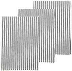 ticking stripe cotton kitchen towels