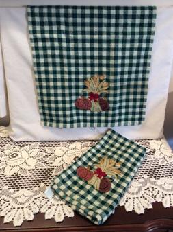 Kitchen Towel B & D Royal Terry 100% cotton Autumn Theme Pum