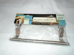 Towel Bar Holder Cabinet Hanger Over Door Kitchen Hook Drawe