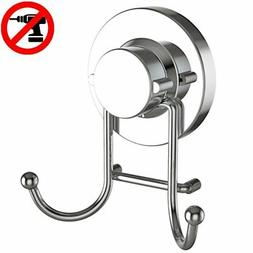 HOME SO Towel Hook with Suction Cup Holder - Bathroom Shower