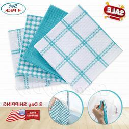 Towel Kitchen Towels Sets Cotton Dish Cloth Hand Best Waffle