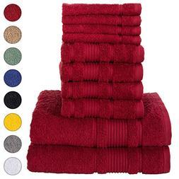 8 Piece Towel Set | Premium Quality Luxury Turkish Towels 2