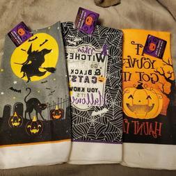 towels hand halloween