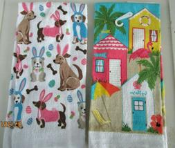 KITCHEN/TOWELS..KITCHEN/HAND TOWELS--EASTER
