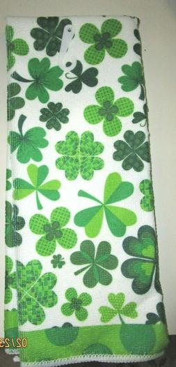 TOWELS..KITCHEN / HAND TOWELS..ST. PATRICKS DAY