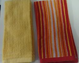 TOWELS...KITCHEN / HAND  GREAT COLORS TO BRIGHTEN YOUR KITCH