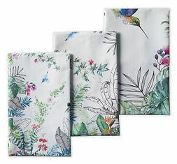 Maison d' Hermine Tropiques 100% Cotton Set of 3 Kitchen Tow