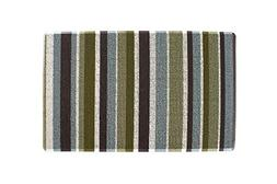 "Ritz Tufted Door Mat with No-Slip Backing, 18"" x 29"", Green"