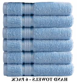 ultra soft hand towels light