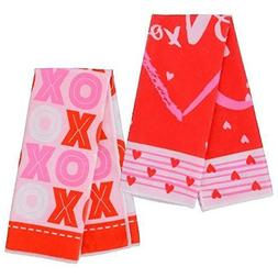 Valentines Day Microfiber Kitchen Towels Bundle