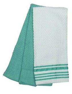 """Value Pack  Kitchen Towels 100% Cotton Fabric, Absorbent 16"""""""