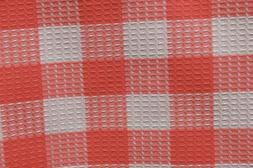 "Waffle cotton fabric, kitchen towels fabric, 2yds x 45"" cut"