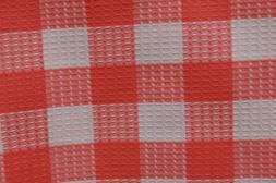 waffle cotton fabric kitchen towels fabric 2yds