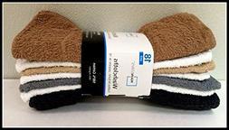 Mainstays Washcloths Neutral Brown, White, Black, Tan & Gray