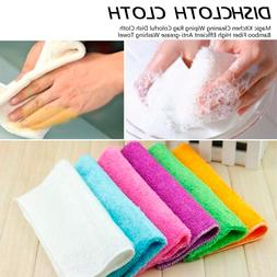 Washing <font><b>Towel</b></font> Cleaning Wiping Rag Colorf