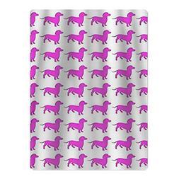 DsafaDdsa77 NEW Weiner Dog Pink Dachshund Microfiber Beach T
