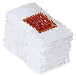 white cotton dish towels 12 pack 28