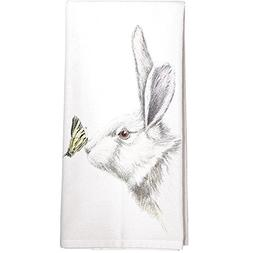 Montgomery Street White Rabbit with Butterfly Cotton Flour S