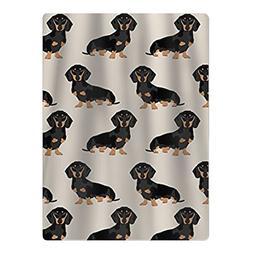 DsafaDdsa77 NEW Wiener Dog Fabric Doxie Dachshund Weiner Dog
