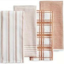 WILLIAMS SONOMA ~ Mixed Stripe Kitchen Towels, Set of 4, Mel