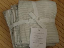WILLIAMS SONOMA SUPER ABSORBENT KITCHEN TOWELS SET/4 IN DRIZ