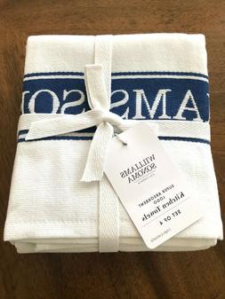 williams sonoma super absorbent logo kitchen towels