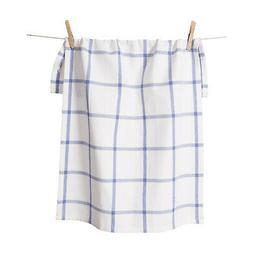 KAF Home Windowpane Oversized Kitchen Towel, 100% Cotton, Pe