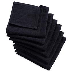 Windowpane Solid Cotton Terry Dish Cloths Set Of 6 Towels Ki