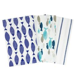 Wrapables 100% Cotton Kitchen Dish Towels